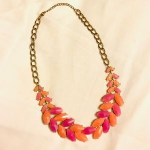 Jewelry - Coral and Pink Statement Necklace